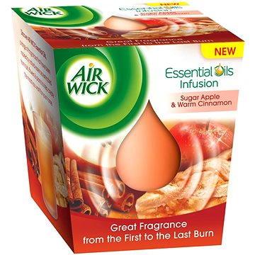 Svíčka AIRWICK Essential Oil Infusion DECO Červené jablko a svařené víno 105 g (5997321757100)