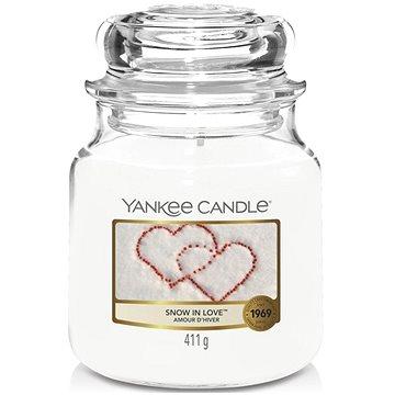 Svíčka YANKEE CANDLE Classic střední 411 g Snow In Love (5038580011029)