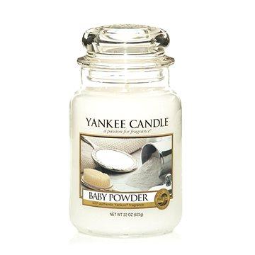 YANKEE CANDLE Classic velký Baby Powder 623 g (5038580001211)