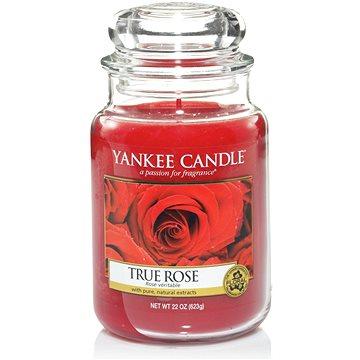 Svíčka YANKEE CANDLE Classic velký 623 g True Rose (5038580008500)