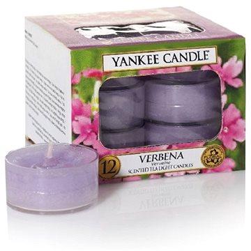 Svíčka YANKEE CANDLE čajové svíčky 12 x 9,8 g Verbena (5038580070613)