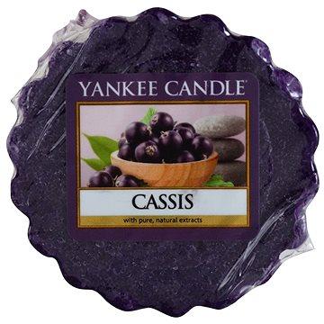 Svíčka YANKEE CANDLE vonný vosk 22g Cassis (5038580048674)