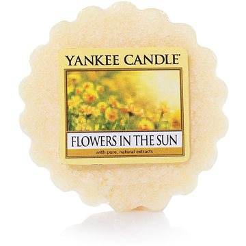 Svíčka YANKEE CANDLE vonný vosk 22g Flowers In The Sun (5038580080810)
