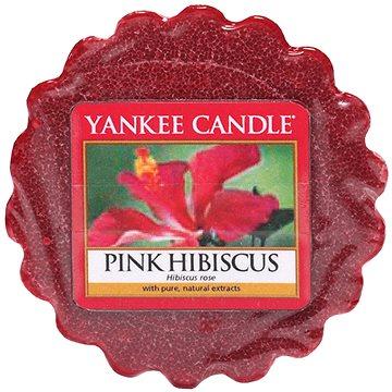 Svíčka YANKEE CANDLE vonný vosk 22g Pink Hibiscus (5038580030617)