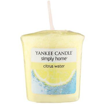 Svíčka YANKEE CANDLE votivní svíčka 49g Citrus Water (5038580044775)