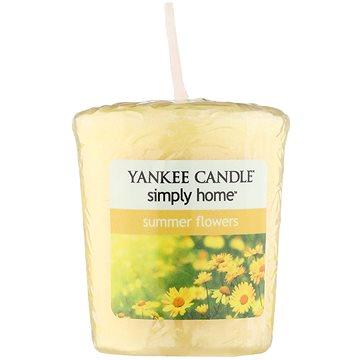 Svíčka YANKEE CANDLE votivní svíčka 49g Summer Flowers (5038580063523)