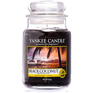 YANKEE CANDLE Classic velký Black Coconut 623 g (5038580013412)