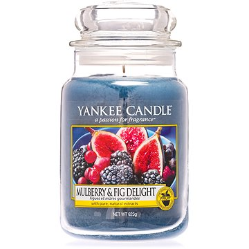 YANKEE CANDLE Classic velký Mulberry & Fig Delight 623 g (5038581016498)