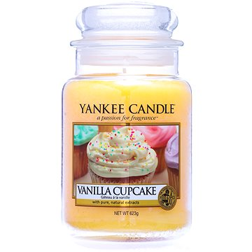 YANKEE CANDLE Classic velký Vanilla Cupcake 623 g (5038580000771)