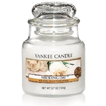 YANKEE CANDLE Classic malý Wedding Day 104 g (5038580001310)