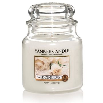 YANKEE CANDLE Classic střední Wedding Day 411 g (5038580000825)