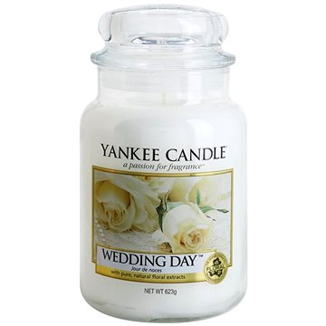 YANKEE CANDLE Classic velký Wedding Day 623 g (5038580000818)