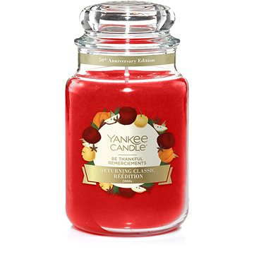YANKEE CANDLE Classic velký Be Thankful 623 g (5038581071893)