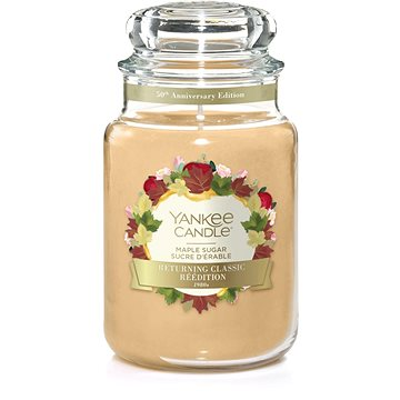 YANKEE CANDLE Classic velký Maple Sugar 623 g (5038581071886)