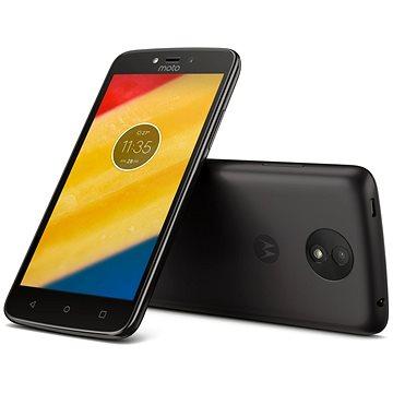 Motorola Moto C LTE Black (PA6L0042RO) + ZDARMA Digitální předplatné Interview - SK - Roční od ALZY Digitální předplatné Týden - roční
