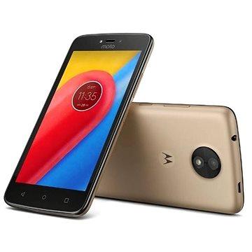 Motorola Moto C LTE Gold (PA6L0072RO) + ZDARMA Digitální předplatné Interview - SK - Roční od ALZY Digitální předplatné Týden - roční