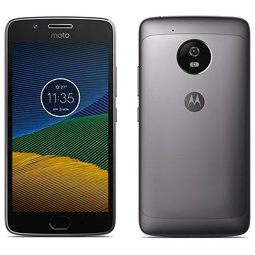 Motorola Moto G 5.generace 2GB Dark Grey (PA610070RO) + ZDARMA Digitální předplatné Interview - SK - Roční předplatné Digitální předplatné Týden - roční