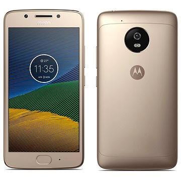 Motorola Moto G 5.generace 2GB Gold (PA610020RO) + ZDARMA Digitální předplatné Interview - SK - Roční předplatné Digitální předplatné Týden - roční