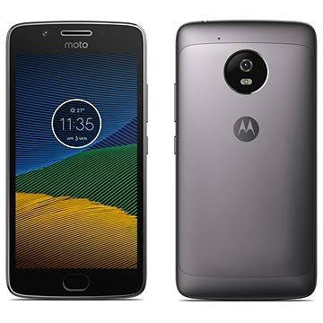 Motorola Moto G 5.generace 3GB Dark Grey (PA610031RO) + ZDARMA Digitální předplatné Interview - SK - Roční předplatné Digitální předplatné Týden - roční