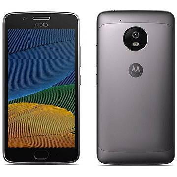 Motorola Moto G5 Plus Lunar Grey (SM4467AC3N6) + ZDARMA Digitální předplatné Interview - SK - Roční od ALZY Digitální předplatné Týden - roční