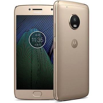 Motorola Moto G5 Plus Gold (SM4467AJ1N6) + ZDARMA Digitální předplatné Interview - SK - Roční od ALZY Digitální předplatné Týden - roční