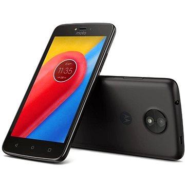 Motorola Moto C Plus Black (PA800015RO) + ZDARMA Digitální předplatné Interview - SK - Roční od ALZY Digitální předplatné Týden - roční