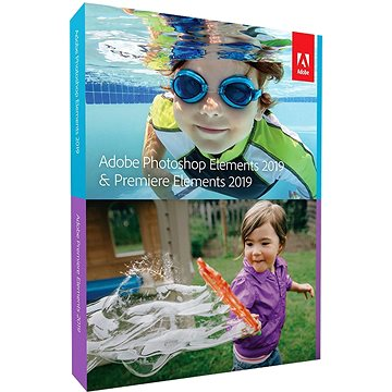 Adobe Photoshop Elements + Premiere Elements 2019 CZ BOX (65292077)