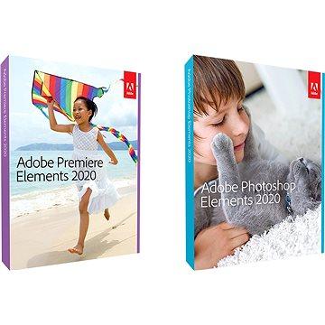 Adobe Photoshop Elements + Premiere Elements 2020 CZ Student & Teacher WIN (BOX) (65299062)