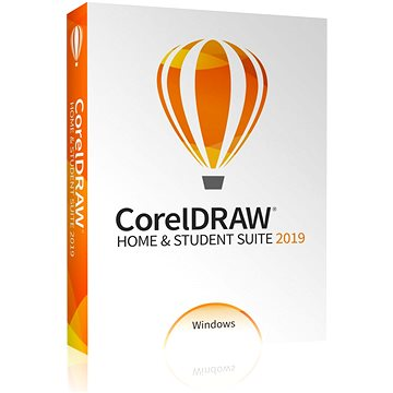 CorelDRAW Home & Student Suite 2019 (BOX) (CDHS2019CZPLMBEU)