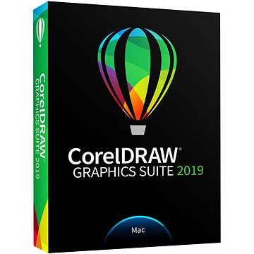 CorelDRAW Graphics Suite 2019 Mac BOX (CDGS2019MMLDPEU)