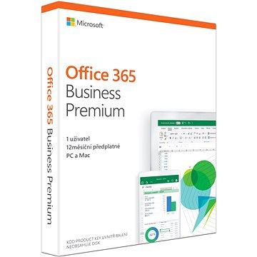 Microsoft Office 365 Business Premium Retail CZ (BOX) (KLQ-00413)