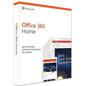 Microsoft Office 365 Home Premium ENG (BOX) (6GQ-01076)