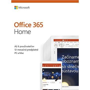 Microsoft Office 365 Home Premium SK (BOX) (6GQ-01048)