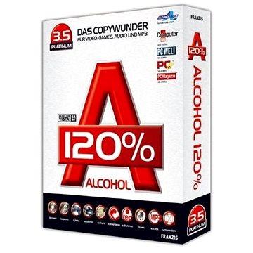 Alcohol 120% Lifetime (elektronická licence) (ALC120)