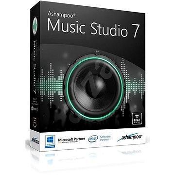 Ashampoo Music Studio 7 (elektronická licence) (Ashamusstu7)