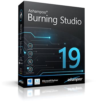 Ashampoo Burning Studio 19 (elektronická licence) (Ashaburs19)