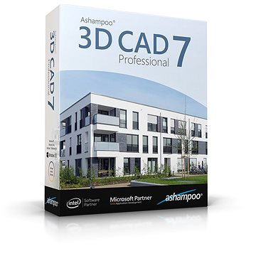 Ashampoo 3D CAD Professional 7 (elektronická licence) (ashap3DCADPRO7)
