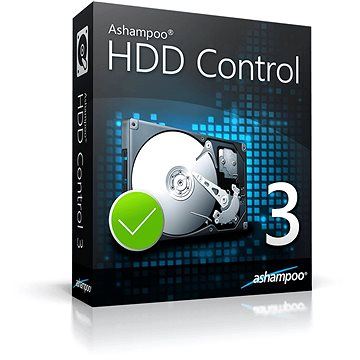 Ashampoo HDD Control 3 (elektronická licence) (ashahddco3)