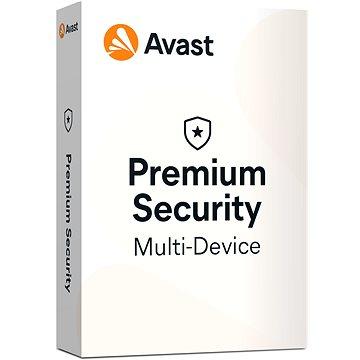 Avast Premium Security Multi-device (až 10 zařízení) na 12 měsíců (elektronická licence) (apsm.1.12m)