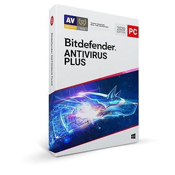 Bitdefender Antivirus Plus 2020 pro 1 zařízení na 1 rok (BOX) (AV01ZZCSN1201LEN_BOX)