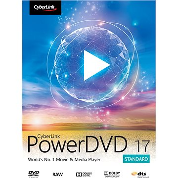 Cyberlink PowerDVD 17 Standard (elektronická licence) (Cybepowstd17)