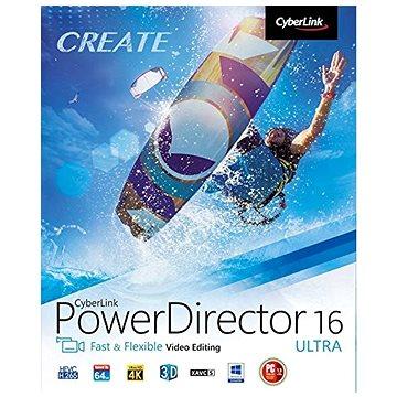 CyberLink PowerDirector 16 Ultra (elektronická licence) (Cybepowdirultra16)