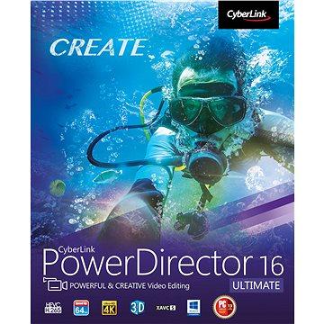 CyberLink PowerDirector 16 Ultimate (elektronická licence) (Cybepowdirultim16)