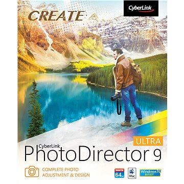CyberLink PhotoDirector 9 Ultra (elektronická licence) (Cybephotodirult19)