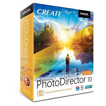CyberLink PhotoDirector 10 Ultra (elektronická licence) (Cybephotodirult10)