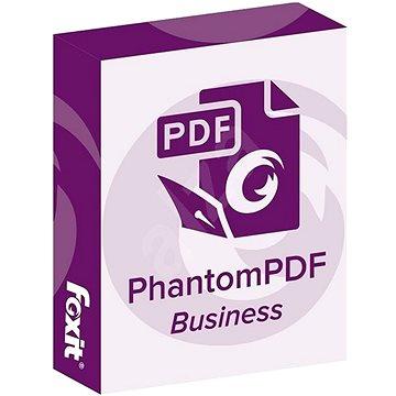 Foxit PhantomPDF Business 9 (elektronická licence) (Foxphanbus9)