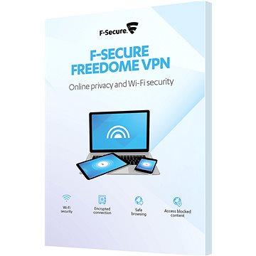 F-Secure FREEDOME pro 3 zařízení na 1 rok (elektronická licence) (FCFDBR1N003E1)