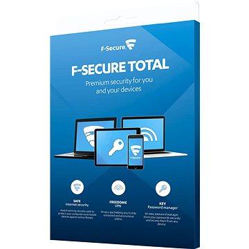 F-Secure TOTAL FAMILY DR pro 5 zařízení na 1 rok + Data Recovery pro 1 zařízení na 1 rok (elektronic (FCFTBR1N005X2)