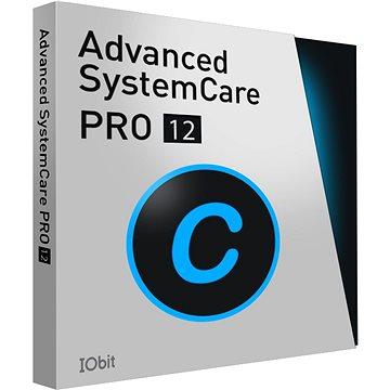 Iobit Advanced SystemCare 12 PRO, 1 PC, 1 rok (elektronická licence) (Iobadvsyspro11)