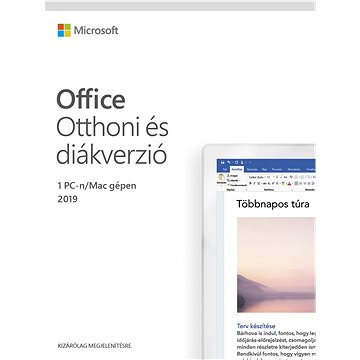 Microsoft Office 2019 Home and Student HU (elektronická licence) (79G-05018)